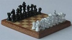 Board Games - Make a Miniature Dolls House Chess or Draughts Board
