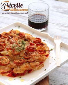 Tiella con patate e peperoni  http://ift.tt/1WHTEEF #antipasto #appetizer…
