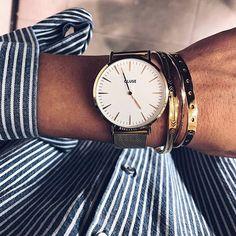 Gold it  Dots Bangle ➕ Irregular Bangle   www.maria-pascual.com #mariapascual #mariapascualbangles #joyitas #joyas #igers #cute #details #cluse #jewelry #gold #ootd