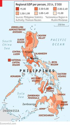 Daily chart: A guide to the Philippines' history, economy and politics | The Economist