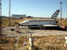 Abandoned Soviet Space Shuttle Buran after a cost of 17 billion dollars