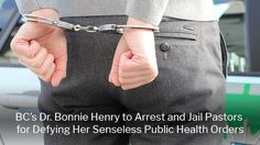 Dr. Bonnie Henry to Arrest, Jail Pastors for Defying Her Senseless Public Health Orders Big White Ski Resort, Canadian Law, Go Skiing, Public Health, Current Events, Politics, Pastor, Political Books