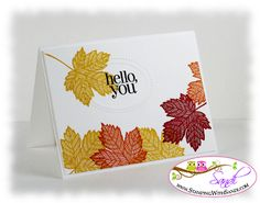 more Magnificent Maple by SandiMac - Cards and Paper Crafts at Splitcoaststampers