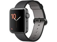 15f2ae6f361 Apple Watch Series 2 38mm Alumínio 8GB Esportiva - Preta GPS Integrado  Resistente a Água