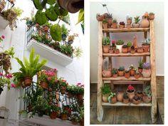 Por pocas que sean… ¡pon plantas! #decoraciónbalcones
