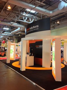 Stand produced for Smart Solutions RWM 2013