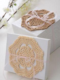 Ravelry: Doily - 3 Ways pattern by Bernat Design Studio