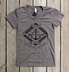 Play like a Pirate  Womens TriCoffee Tshirt by Monorail on Etsy, $26.00