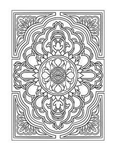 InspiredModern Art Designs Coloring Book For Grownups Published By Temescal Press
