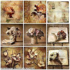 Autorské bavlněné panely VÝBĚR ZS59 Painting, Photos, Paintings, Draw, Drawings