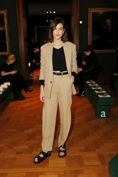 d88e44cfc3c4f alexa chung celebrity look of the week chunky sandals in winter man  repeller Chunky Sandals
