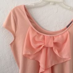 Peach ish color top It's a large peach ish color top! In good condition!  Trade ✅ Bundle Charlotte Russe Tops