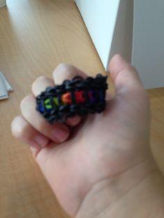 Black rainbow loom