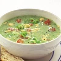 broc­coli­soep met to­maat Recept - Romige broccolisoep met tomaat - AllerhandeRecept - Romige broccolisoep met tomaat - Allerhande Best Soup Recipes, Healthy Recipes, Vegetarian Recepies, Good Food, Yummy Food, Best Food Ever, Homemade Soup, Soup And Salad, Food Inspiration