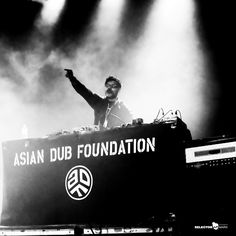 Asian Dub Foundation Madrid live! Show photography by Selector Marx