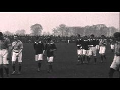 The Racecourse in 1906 - Wales v Ireland in the British Home Championship. The match finished 4-4.
