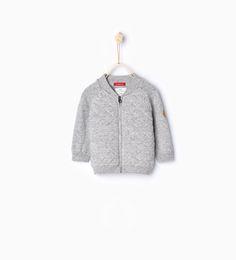 Image 1 of Knit cardigan from Zara