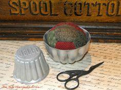 Heartspun Quilts ~ Pam Buda: Vintage Tin Pinkeeps