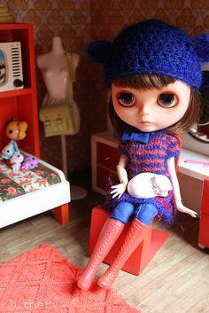 Janne in her bedroom | Flickr