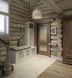 Дизайн интерьера дома в п.Зеленое: Коридор и прихожая в . Автор – MJMarchdesign