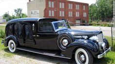 Packard DeVille Hearse