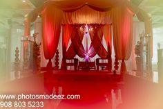 Wedding Decor - Mandap at Gujarati Wedding at Westmount Country Club - Indian Wedding. Wedding Decor by Raviverma from Wedding Design Decor. Best Wedding Photographer PhotosMadeEz, Award winning photographer Mou Mukherjee. #Nishali2016