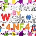 Multiply Fractions by Whole Numbers includes 25 pages of two fraction math centers aligned to the Common Core Standards for grade. The centers . 4th Grade Classroom, 5th Grade Math, Fourth Grade, Classroom Ideas, I Love Math, Fun Math, Teacher Hacks, Teacher Stuff, Teaching Math