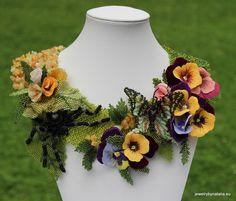 Mimicking Nature Beadwork Jewelry by Natalia Skodova ~ The Beading Gem's Journal
