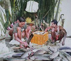 Raghunath Sahoo, Bhubaneshwar, India. Buetiful painting
