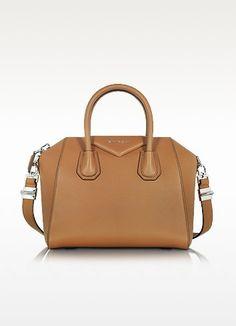 1463d768cbc3 GIVENCHY Antigona Caramel Brown Leather Small Bag.  givenchy  bags   shoulder bags