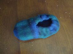 Free Fleece Slipper Pattern | ... in handmade baby and toddler ...