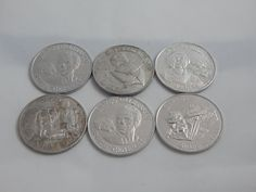 Vintage Set of Six Star Wars Coins by AlwaysPlanBVintage on Etsy
