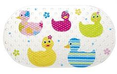 kids bath mat - fancy ducks