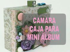CAMARA - caja para mini álbum (Tutorial)