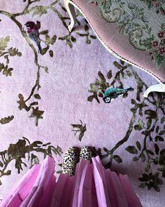Sunburst Designer Rug by Wendy Morrison Secret Garden Colouring, Hand Tufted Rugs, My Secret Garden, Colorful Garden, Floor Decor, Hand Knotted Rugs, Feng Shui, Pink And Gold, Lotus