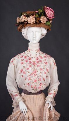 "omgthatdress: "" Blouse 1905-1909 The FIDM Museum """