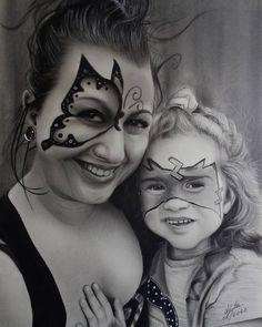 Pencil Drawings, My Drawings, Graphite, Charcoal, Halloween Face Makeup, Instagram, Graffiti, Pencil Art