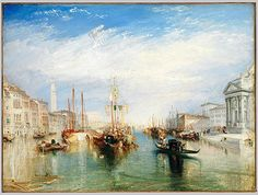 Joseph Mallord William Turner: Venice, from the Porch of Madonna della Salute (99.31) | Heilbrunn Timeline of Art History | The Metropolitan Museum of Art