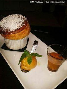 Inimitable Souffle au caramel at Le Cottage #sxm #saintmartin #grandcase #foodporn