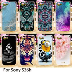 Smartphone Cases For Sony Xperia L S36h C2105 C2014 4.3 inch Case Minions Hard Back Cover Skin Housing Sheath Hood Bag Shells #Affiliate