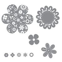 Printed Petals - Clear-Mount Stamp Set - by Stampin' Up!