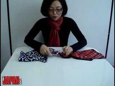 Furoshiki - Embrulho de presente em tecido, reutilizável!