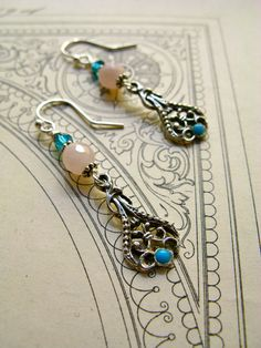 Hands of Time earrings by finevanbrooklin on Etsy, via Etsy.