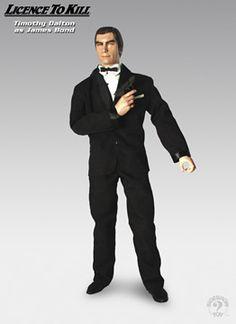 james bond memorabilia | James Bond: Timothy Dalton from License To Kill Description: