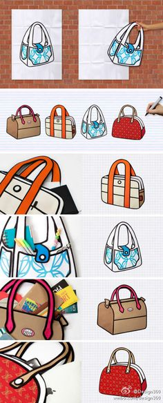 """""""Jump from Paper"""" bags by Chay Su and Rika Lin (Taiwan) Jump From Paper, Cute Little Things, Paper Bags, Taiwan, Bag Accessories, My Style"""