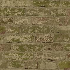 "Urban Chic Up the Wall 33' x 20.5"" Brick/Wood/Stone Roll Wallpaper"