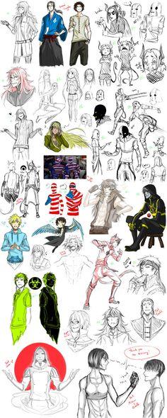 Sketch Dump 6 by Namonn