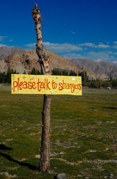 Ladakh. This happens only in India !