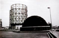 Gasfabriek Oranjeboomstraat koepel 1973