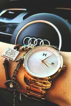 MVMT Gold Pearl Watch.......